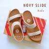 **พร้อมส่ง** FitFlop : NOVY Slide : Nude : Size US 6 / EU 37