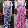 [[หมด]] กางเกง Bichalai Florals Pant งาน Made in Korea. กางเกงเอวสูงพิมพ์ลายดอกผ้าเนื้อดีงานสวยเว่อร์จ้า