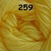 ไหมพรมดาหลา สีพื้น สี 259