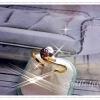 แหวนเพชร gold plated 1microns