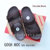 * NEW * FitFlop Men's : GOGH MOC Slide : Chocolate Brown : Size US 11 / EU 44