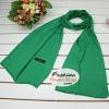 ผ้าพันคอแฟชั่นเกาหลีสีพื้น ZARA GREEN : สีเขียว CK0377