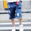pr3247 กางเกงยีนส์ขาสั้น เด็กโต 150-170 3 ตัวต่อแพ็ค