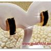 ต่างหูนิล gold plated 2microns
