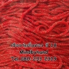 เชือกร่มดิ้นทอง รหัสสี 18 สีแดง