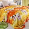ผ้าห่มนาโน หมูเหลืองส้ม