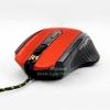 "USB Optical Mouse ""NUBWO"" (NM-11 RAZA) Gaming (black/Red)"