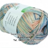 ไหมพรม Bamboo Cotton สีเหลือบ รหัสสี M25