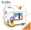 บ้านกระดาษศิลปินน้อย Little Play House - Little Princess House