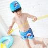 ชุดว่ายน้ำเด็ก ลาย โดเรมอน กางเกง+หมวก มีไซส์ L XL XXL