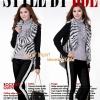 สาวอวบใส่ได้ XL 2XL 3XL) Zebra furknit lady blouse เสื้อคลุมไหมนิตติ้งปกเฟอร์ ลายม้าลาย แบบสวยมากทั้งหน้าหลัง