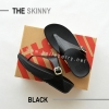 * NEW * FitFlop The Skinny : Black : Size US 5 / EU 36
