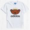 (พรีออเดอร์-- USA) adidas Originals By NIGO Brown Bear Logo Tee