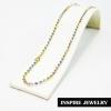 Inspire Jewelry ,สร้อยคอเม็ดอิตาลี 3 กษัตริย์ 18 นิ้ว (ขนาดเม็ด 3 มิล) สวยหรู คงทน งานคุณภาพ
