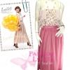 [มีหลายสีแบบชมพู่/อั้ม] เทรนด์แรงกับMaxi Skirt : SB176 กระโปรงยาวแม๊กซี่แบบแบรนด์H&M ผ้าชีฟองเนื้อดี งานเหมือนงานตัดสวยมาก สีพื้นสีชมพูกลีบบัว ฟรีไซส์