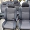 Toyota Wish เบาะชุดToyoTa Wish 3แถว ลายเคฟล่าสีดำ,ส้ม สเป๊กญี่ปุ่น แถวกลางนั่งได้3คน Wish เบาะโตโยต้า วิช เบาะWish เบาะชุดWish มีท้าวแขน2ข้าง ราคาตามข้างล่างนี้เป็นราคาต่อชุด3แถวนะครับ