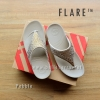 **พร้อมส่ง** รองเท้า FitFlop : F L A R E : Pebble : Size US 6 / EU 37