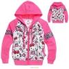 เสื้อกันหนาวเด็ก ลาย kitty สีชมพู มีไซส์ 95 100 110