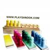 TY-3043 หลักหมุดชุดเทียบสี