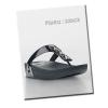 ** พร้อมส่ง ** รองเท้า fitflop Pietra : Black Size US 8 / EU 39