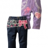 กางเกงเอวซ้อน nissen ขายาว สีม่วง