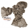 ผ้าพันคอแฟชั่นเกาหลีสีพื้น Hot Basic : สีเทาเข้ม CK0407
