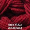ไหมพรม Eagle 25 กรัม สีพื้น รหัสสี 202