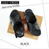 * NEW * FitFlop : Lulu Cross Back-Strap : Black : Size US 6 / EU 37