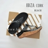 FitFlop IBIZA Cork : Black : Size US 5 / EU 36