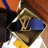 เข็มขัด Louis Vuitton ท็อปมิลเลอร์ 1:1 สายสีกรมท่ากว้าง 1.5นิ้ว หัวสีทอง