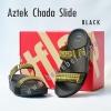 **พร้อมส่ง** รองเท้า FitFlop Aztek Chada Slide : Black : Size US 5 / EU 36