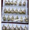 Inspire Jewelryจี้พระพุทธชินราช งานปราณีต ทำซาติน แบบทองสวิส กรอบทองตอกลาย ขนาด 1.8cm.x2.5cm.กรอบชุบเศษทองแท้ 100% เหมาะบูชาเองเป็นของขวัญของฝากปีใหม่ฉลองตำแหน่ง วันเกิด ของทีระลึก ของสะสม ฯ