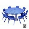 2SPO-1009B โต๊ะกลมโต๊ะกลมพร้อมเก้าอี้8ตัว