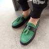 รองเท้าผู้ชาย | รองเท้าแฟชั่นชาย รองเท้าหนังกลับ แฟชั่นเกาหลี