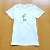 ขายส่ง:เสื้อยืดคอกลมแบบน่ารักแต่งปักmoomin/อก34