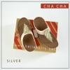 FitFlop : CHA CHA : Silver : Size US 6 / EU 37