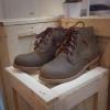 รองเท้าผู้ชาย | รองเท้าแฟชั่นชาย Ankle Boots Oiled with Nubuck Leather