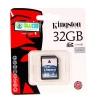 """SD Card 32GB """"Kingston"""" (SD4)"""