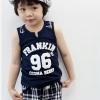 ชุดเด็กผู้ชาย แฟชั่นเกาหลี เสื้อ+กางเกง 100 110 120 130 140