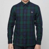 (พรีออเดอร์) Fred Perry Blackwatch Long Sleeve Shirt - Exclusive