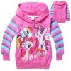 เสื้อกันหนาวเด็ก ลาย โพนี่ pony สีชมพู 100 130 140