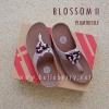 **พร้อมส่ง** FitFlop : BLOSSOM II : Plumthistle : Size US 8 / EU 39