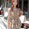 เสื้อผ้าชีฟองพิมพ์ลายสไตล์เกาหลี(เกรดA)