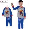 ชุดนอนเด็ก Caluby ลาย Spider Man ฟ้า/เทา (นุ่มสบาย)2Y 3Y 4Y 5Y 6Y 7Y