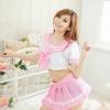ชุดนักเรียนเซเลอร์มูนสีชมพูคอสเพลย์สาวญี่ปุ่นสุดแบ๊ว