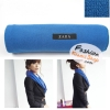 ผ้าพันคอแฟชั่นเกาหลีสีพื้น ZARA BLUE : สีน้ำเงิน CK0144