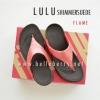 พร้อมส่ง FitFlop LULU Shimmersuede : Flame US7/38