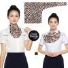 ผ้าพันคอสำเร็จรูป ผ้ายูนิฟอร์ม uniform ผ้าไหมซาติน : L44