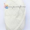 ไหมพรม Silk Cotton Wool SC001 สีครีม