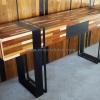 โต๊ะคอนโซลลายปาร์เก้ CNS-01P